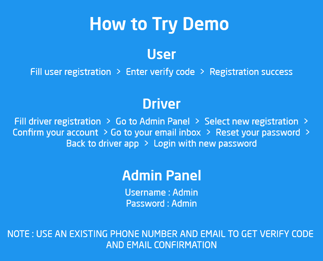 Ouride - Transportation App With Customer App, Driver App, and Admin Panel - 3